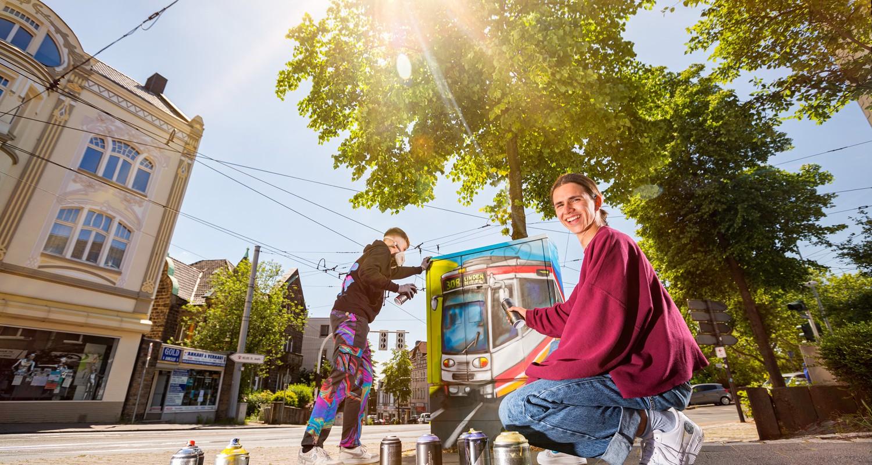 Bochum-Fonds - Street Artists in Aktion